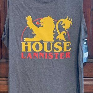 GAME OF THRONES HOUSE LANNISTER TANK XS